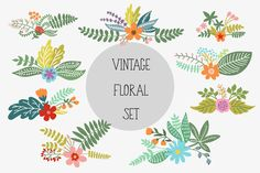 The Best Floral, Flower Clipart Graphics