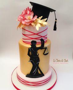 Law graduation cake by Rita Cannova