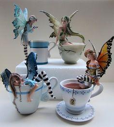 ♡Amy Brown Fairy Coffee/Tea Cups...Super Cute, Want Them!♡
