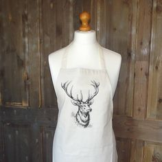 stag apron by rustic country crafts | notonthehighstreet.com