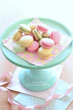 Macarons (homemade) - copyright Irene C. photography - All rights reserved. Do not use without permission.