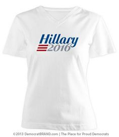 The best Hillary 2016 shirts from Democrat Brand, The Place for Proud Democrats. Powered by #cafepress #hillary2016