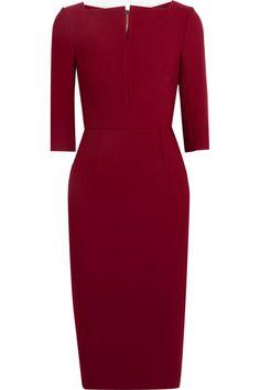 ROLAND MOURET Etty Stretch-Crepe Dress. #rolandmouret #cloth #dresses