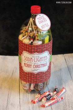 Gift in a Bottle - Free Printable Gift Tags #733BlogLovesAvery