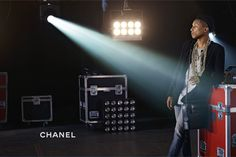 Pharrell, shot by Karl Lagerfeld