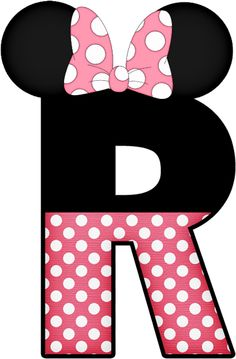 Mickey Mouse Letters, Mickey E Minnie Mouse, Minnie Mouse 1st Birthday, Minnie Png, Disney Applique, Disney Alphabet, Alphabet And Numbers, Applique Patterns, Letters