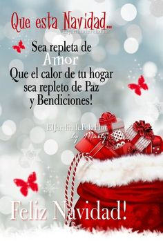 Christmas Greetings Quotes Messages, Merry Christmas Message, Christmas Card Sayings, Happy New Year Greetings, Merry Christmas And Happy New Year, Good Morning Christmas, Christmas Time, Good Day Messages, Spanish Inspirational Quotes