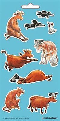 Mamma Mu och Kråkan - Stickers
