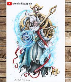 Zilean the Chronokeeper  League of Legends by BlondynkiTezGraja.deviantart.com on @DeviantArt