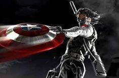 Sebastian Stan on Bucky in 'Captain America: The Winter Soldier' Batwoman, Nightwing, Bucky Barnes, Captain America Winter, Captain America Shield, Red Hood, Marvel Dc Comics, Marvel Heroes, Marvel Art