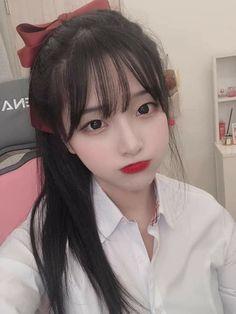 Pretty Korean Girls, Cute Korean Girl, Cute Asian Girls, Cute Girls, Uzzlang Girl, Girl Face, Korean Girl Photo, Girl Korea, Jung So Min