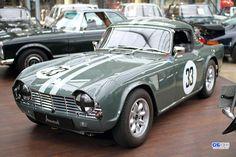 British Sports Cars, Cool Sports Cars, Classic Sports Cars, Sport Cars, Race Cars, Classic Cars, Triumph Motor, Honda Motors, Tr 4