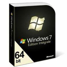 LOGICIEL À TÉLÉCHARGER Microsoft Windows 7 Edition Intégrale 64bits - A T