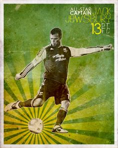 Gotta love Capt'n Jack Jewsbury and the Portland Timbers