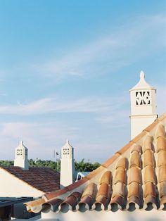 Portuguese chimneys - Vanessa Jackman