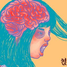 #켡 #hyunz #illust #illustration #그림 #illustrator #drawing #켠지 #artist #art #visualart #brain #일러스트레이터 #뇌 #girl