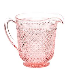 This Mosser Glass Rose Addison Pitcher by Mosser Glass is perfect! #zulilyfinds