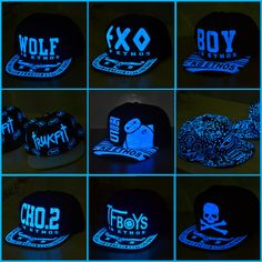 Cheap hat, Buy Quality cap supreme directly from China cap hat Suppliers: 	Hot Sale Kpop Wolf EXO TFBOYS  Hat  Cap With Blue Light Baseball Cap Hat Free Shipping	----------------------