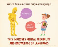 This improves mental flexibility and knowledge of language