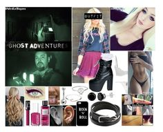"""""""👻 (GA: S:3 E:3) Ohio State Reformatory (Lockdown) 👻"""" by mrskatbagans ❤ liked on Polyvore featuring Topshop, ROC, Essie, NARS Cosmetics, Victoria's Secret, Casetify, Daisy Knights, Hermès, L'Agent By Agent Provocateur and Agent Provocateur"""