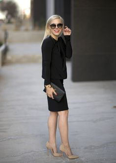 the perfect black dress (and it's under $100)