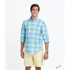 2afd150930 Shop men's sport shirts at vineyard vines. Choose from solid and plaid  casual shirts for men in all colors and classic fit, and embrace the Good  Life