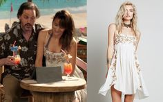 """Rosalee Calvert (Bree Turner) wears a Free People Intimately Embroidered Babydoll Slip in the color Shell in Grimm Season 4 Episode 11 """"Death Do Us Part."""" #rosaleecalvert #freepeople #grimm #nbc"""