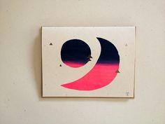 Luna y Sol Night Card by essimar