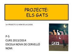 Projecte Gats P5 Escola Nova Cervelló