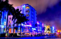 Colorfoul city at night photography | Photography