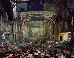 Detroit abandoned theatre