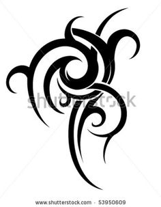 Tribal art - stock vector