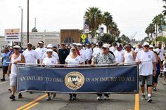 "Thousands march in Wilmington parade to support organized labor   Thousands of union members, their families, supporters and friends marched through Wilmington on Monday in support of organized labor in America.""Union Proud. Union Strong'' was the theme of the Los Angeles/Long Beach Harbo"