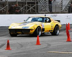 The competition was so fierce in the Holley LS Fest autocross event, and the times so close, that Chris Smith finished in a 4-way tie for 4th place with a time of 33.2