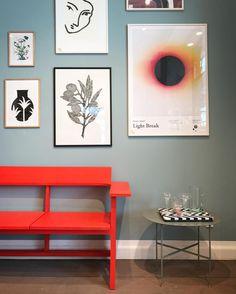 "202 gilla-markeringar, 2 kommentarer - Stilleben (@stilleben_dk) på Instagram: ""Bring new life to your kitchen, Living room, or Hall Way with This red Clerici Bench from…"""