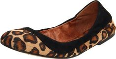 Sam Edelman Bina Leopard Calfhair Ballet Flat