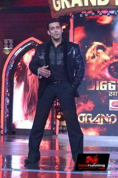 Salman Khan at Grand finale of 'Bigg Boss 7'