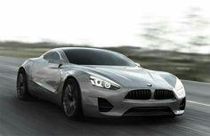 La très attractive future BMW coupé de grand luxe sportif série 8
