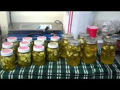 Super Easy Way To Make Bread And Butter Pickles! I Love Them Pickles! YUM!
