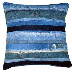 Recycled denim cushion                                                                                                                                                     More