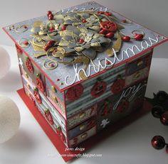 "pamscrafts: Match box ""Advent calender box"""