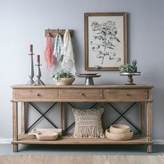 Shop a great selection of Chestertown Timber Console Table Gracie Oaks. Find new offer and Similar products for Chestertown Timber Console Table Gracie Oaks. Entryway Decor, Entryway Tables, Hall Tables, Sofa Tables, Rustic Hallway Table, Home Furniture, Furniture Buyers, Entryway Furniture, Home Furnishings