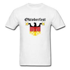Free Standard Shipping. Ends 9/10. Oktoberfest Custom German Eagle design Tees. Celebrate Oktoberfest in style! #beer