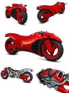 14 best ferrari v4 images on Pinterest | Ferrari bike, Concept ...