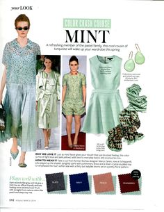 Color Crash Course - Mint - InStyle