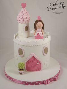 1 tier princess cake - Buscar con Google