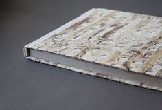 Charybdis  wedding guestbook with natural tree bark by veterok, $79.00