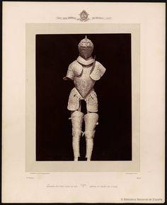 Armadura del gran duque de Alba. Laurent, J. 1816-1886 — Fotografía — 1868?