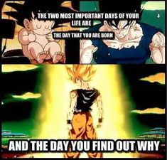 positive dragonball z quotes - Google Search - Visit now for 3D Dragon Ball Z shirts now on sale!