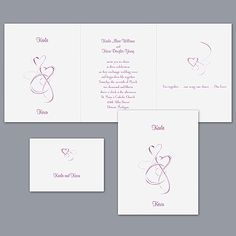 Skipped a Beat - Sangria - Invitation idea...heres another start